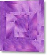 Brushed Purple Violet 10 Metal Print