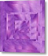 Brushed Purple Violet 11 Metal Print