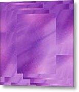 Brushed Purple Violet 7 Metal Print