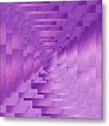 Brushed Purple Violet 9 Metal Print