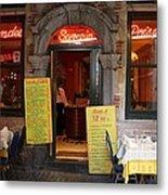 Brussels - Restaurant Savarin Metal Print