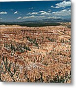 Bryce Canyon Panaramic Metal Print