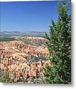 Bryce Canyon Panoramic Metal Print