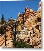 Bryce Canyon Santa Clause Metal Print