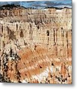 Bryce Canyon Vista Metal Print