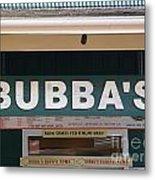 Bubba Burgers Metal Print