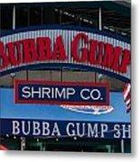Bubba Gump Metal Print