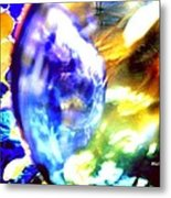 Bubble Abstract 001 Metal Print
