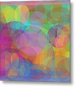 Bubble Land Metal Print