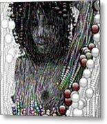 Bubble Woman Metal Print