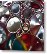 Bubbles IIi Metal Print