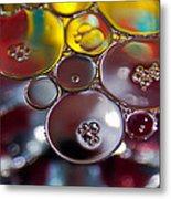 Bubbles Iv Metal Print