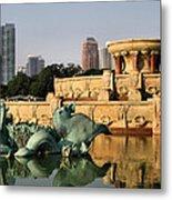 Buckingham Fountain - 3 Metal Print