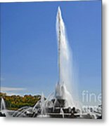 Buckingham Fountain - Chicago's Iconic Landmark Metal Print by Christine Till