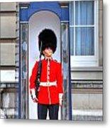 Buckingham Palace Metal Print by Barry R Jones Jr