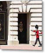 Buckingham Palace Guards Metal Print