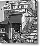 Bud'd Broiler New Orleans-bw Metal Print