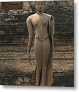 Buddha At Sukhothai 3 Metal Print