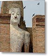 Buddha At Sukhothai Metal Print