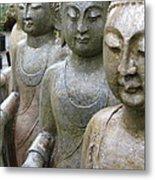 Buddha City2 Metal Print
