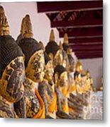 Buddha Culptures Metal Print