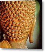 Buddha Detail 2 Metal Print