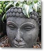 Buddha On A Hot Summer Island Day Metal Print