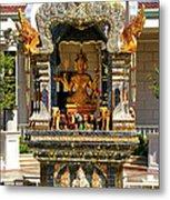 Buddha Shrine Metal Print