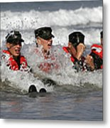 Buds Students Participate In A Surf Metal Print