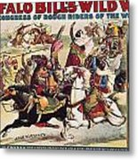 Buffalo Bill: Poster, 1899 Metal Print