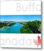 Buffalo Canada Metal Print