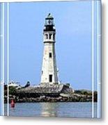 Buffalo Main Lighthouse Metal Print