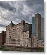 Buffalo Mills - The Backside Metal Print