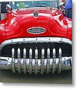 Buick With Teeth Metal Print