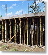 Building Construction Metal Print