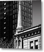 Building Steeple Metal Print