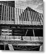 Building The American Dream Metal Print by John Farnan