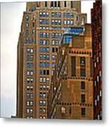Buildings From The Taxi Metal Print