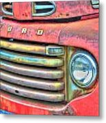 Built Like A Rock Series 01 Metal Print