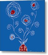 Bulb Flower Metal Print