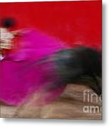 Bull Fighter - Mexico Metal Print