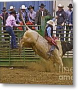 Bull Rider 2 Metal Print by Sean Griffin