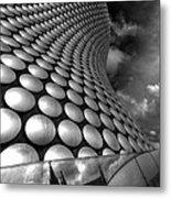 Bullring - Selfridges V2.0 Bw  Metal Print
