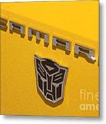 Bumble Bee Logo-7909 Metal Print