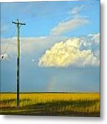Bundy Fields Metal Print