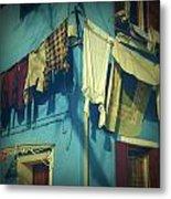 Burano - Laundry Metal Print by Joana Kruse