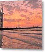Burj Al Arab Dubai Metal Print by Anusha Hewage