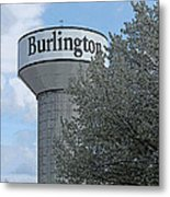 Burlington Metal Print