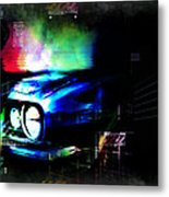 Burn Out Metal Print