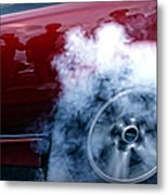 Burnout Metal Print